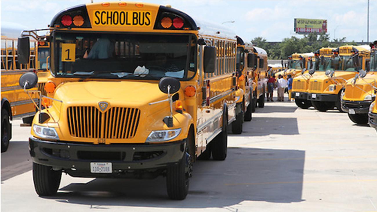 HISD school buses