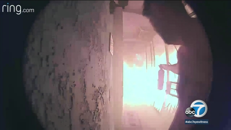 Corona couple claims video doorbell helped save them from fire