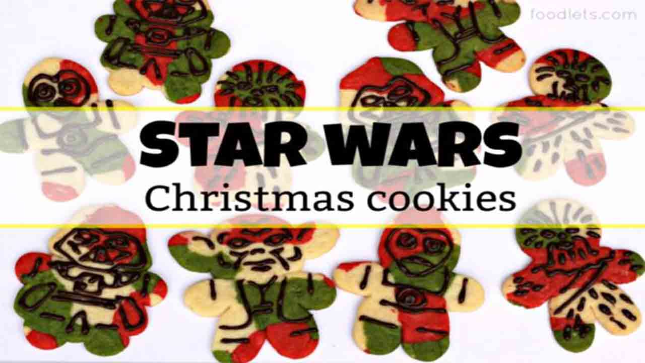 Star Wars Christmas Cookies