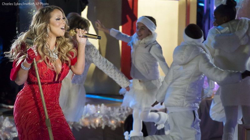 Youtube Mariah Carey Christmas.Top Christmas Songs On Youtube For 2017