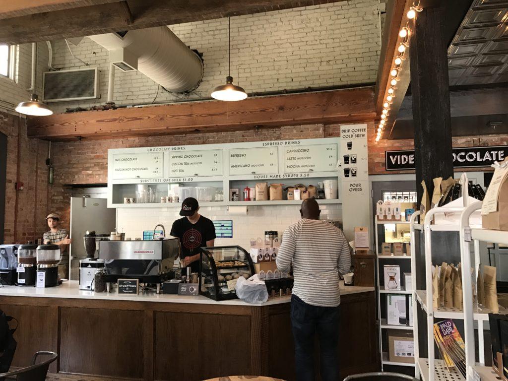 <div class='meta'><div class='origin-logo' data-origin='none'></div><span class='caption-text' data-credit='Credit: Natasha'>Their cafe offers sweet treats including cappuccinos</span></div>