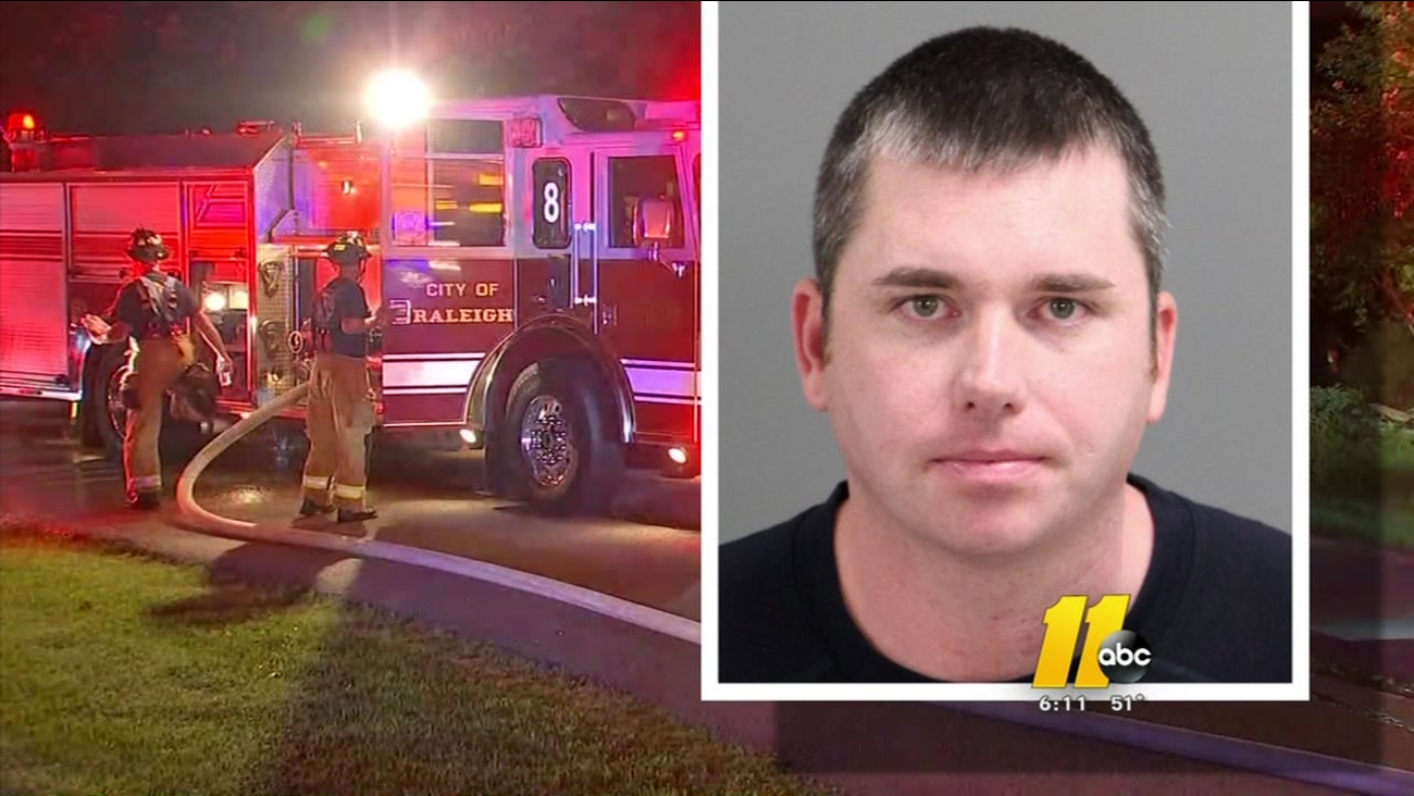 Raleigh firefighter accused of forging prescriptions to traffic opiates