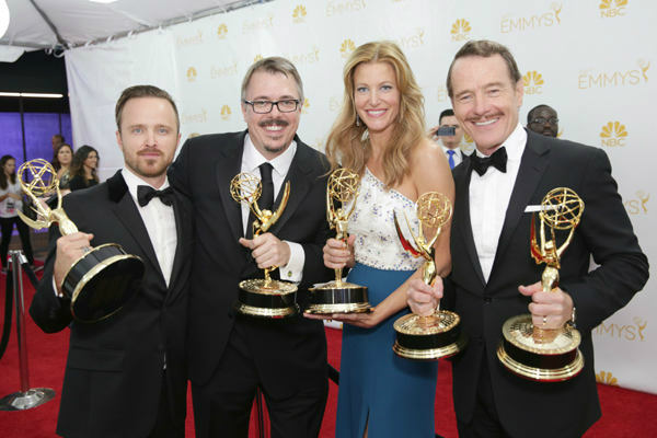 "<div class=""meta image-caption""><div class=""origin-logo origin-image ""><span></span></div><span class=""caption-text"">''Breaking Bad'' went out with a bang, winning the award for Outstanding Drama Series--as well as five others. (Photo/Casey Curry)</span></div>"