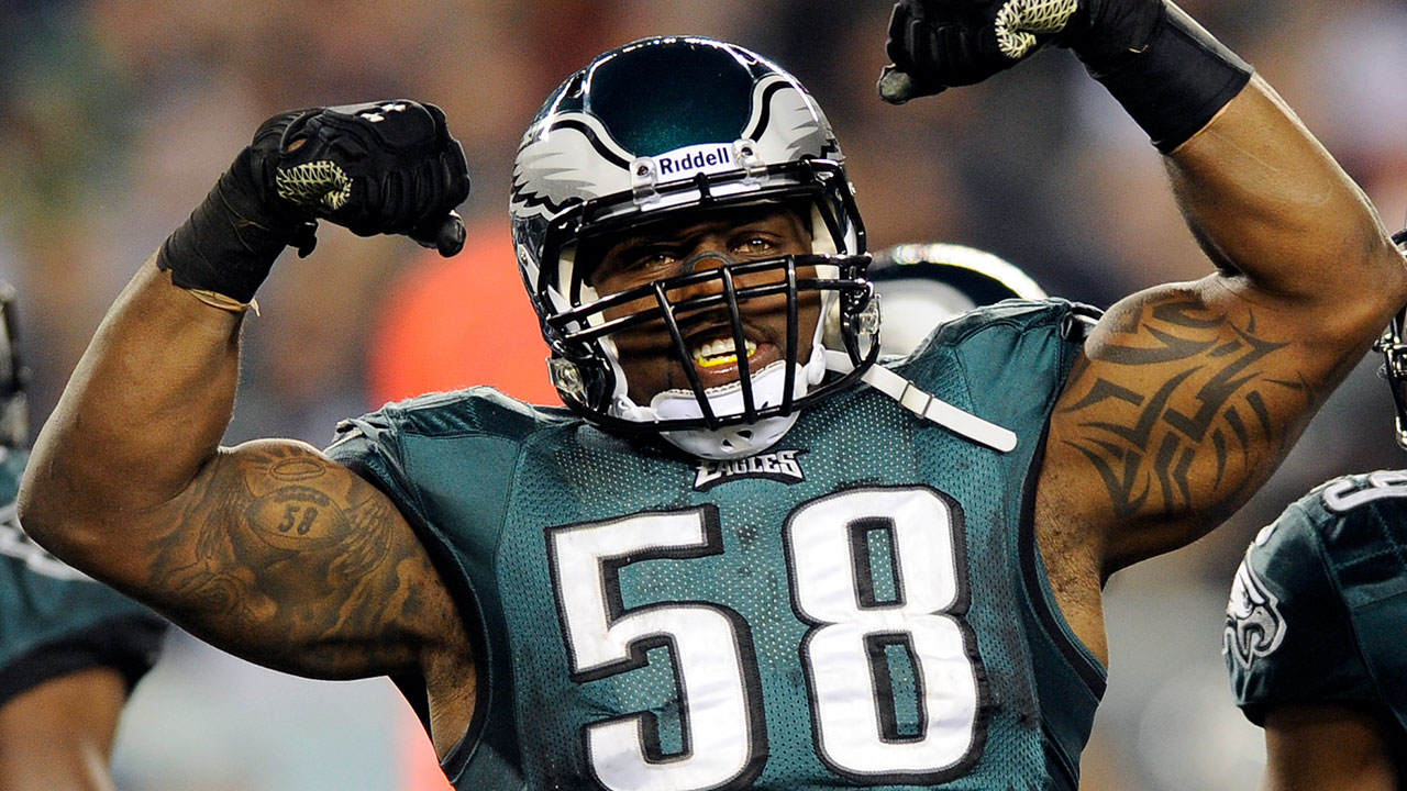 Trent Cole to retire as a Philadelphia Eagle on Christmas Day - 6abc ...