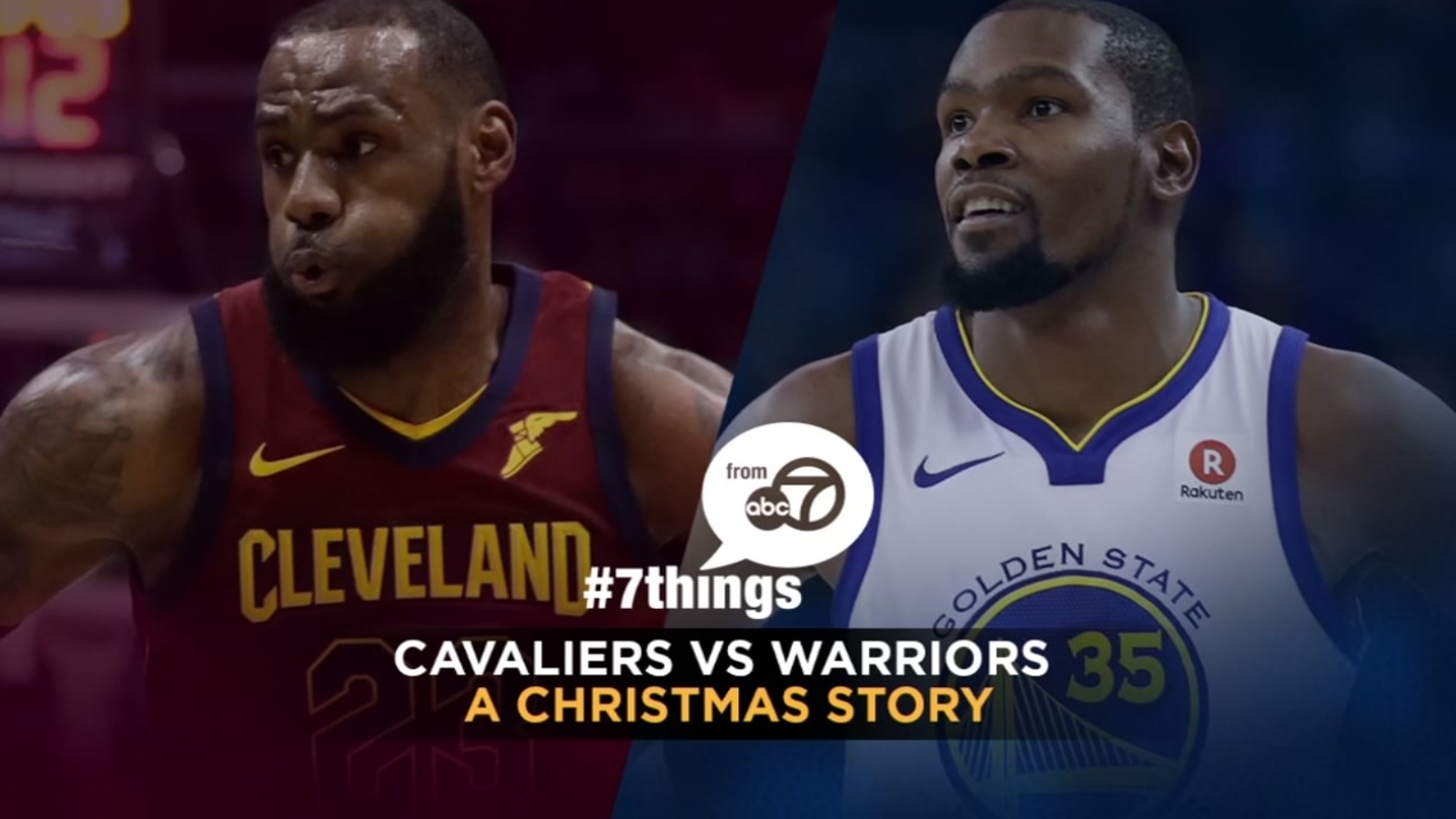 df6331afef8 VIDEO  7 things to know before the Golden State Warriors face the Cleveland  Cavaliers on Christmas