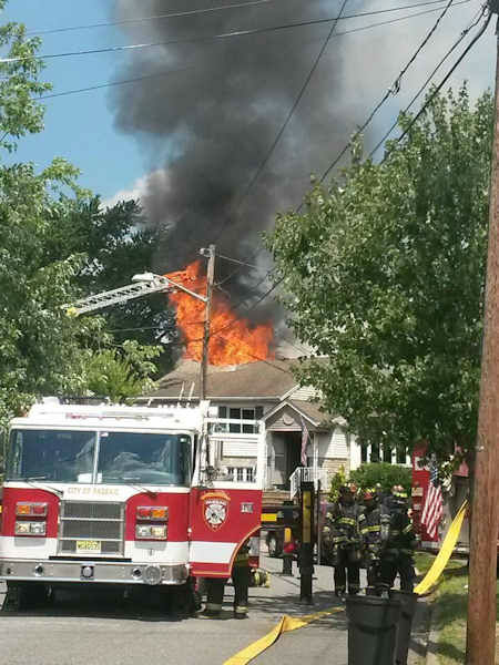 """<div class=""""meta image-caption""""><div class=""""origin-logo origin-image """"><span></span></div><span class=""""caption-text"""">Numerous animals were killed when a fire broke out inside a home in Clifton, New Jersey. The home contained a pet sitting business. (Jasiu Kutarnia)</span></div>"""