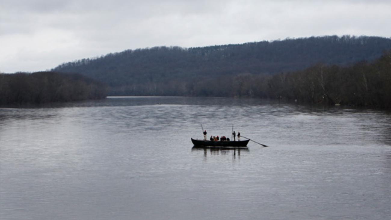 Winds Scuttle Washington S Crossing Despite Kids Efforts 6abc
