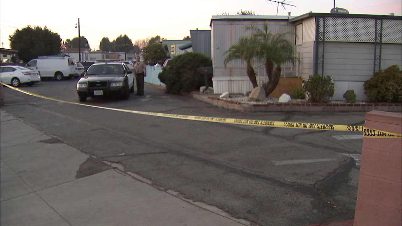 Sheriff's deputies are investigating what appears to be a murder and suicide attempt in Bellflower.