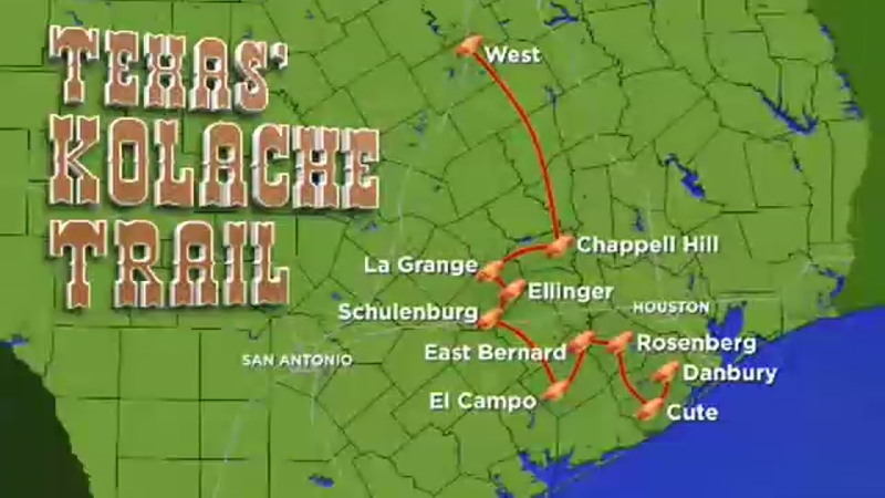 The best kolaches in the state | abc13.com Diners Drive Ins And Dives Texas Map on