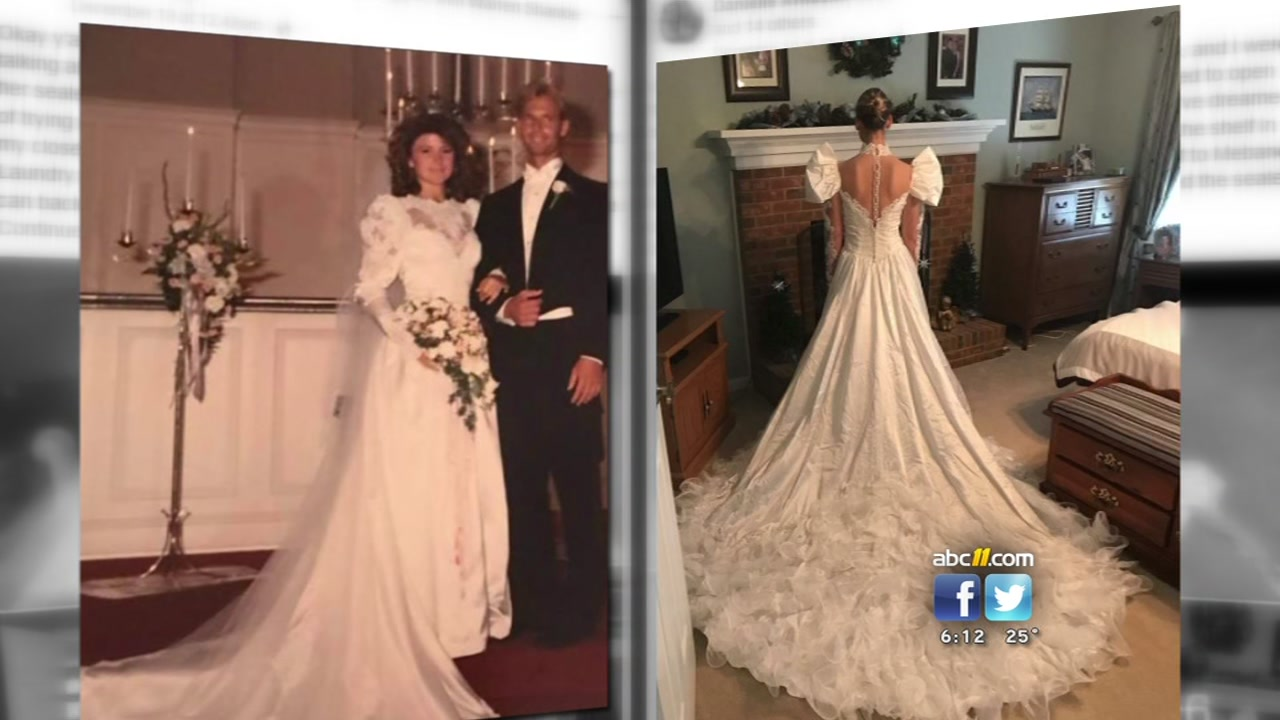 30 years later, wedding dress mixup in Mebane discovered | abc11.com