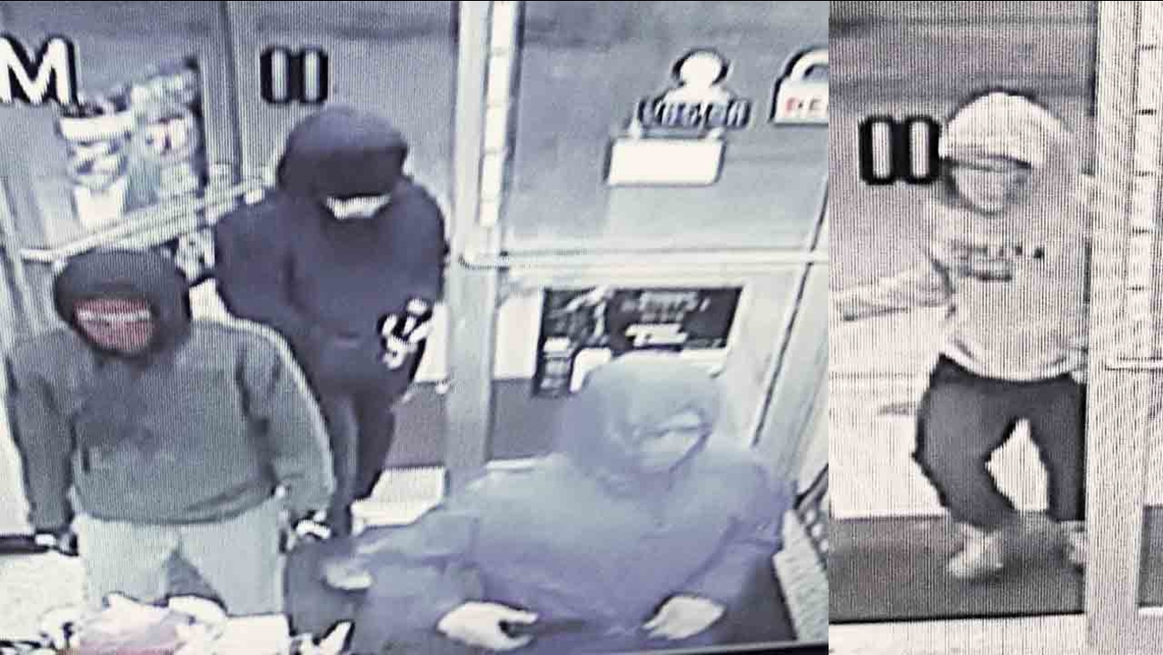 Deputies said these four men robbed a Chapel Hill Circle K