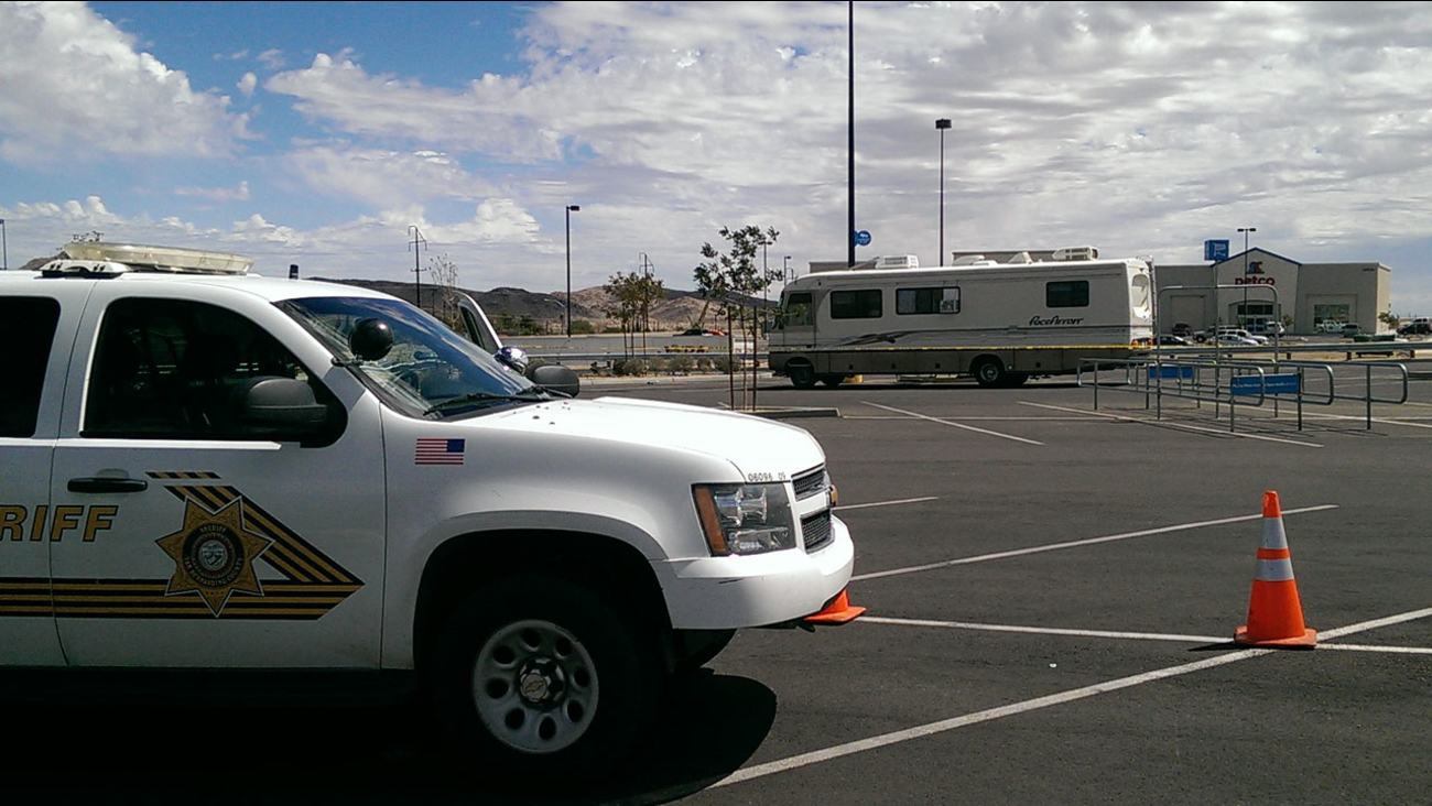 An elderly man was fatally stabbed in his RV in Yucca Valley early Tuesday, Aug. 26, 2014, and a carjacking suspect was arrested for the murder hours later.