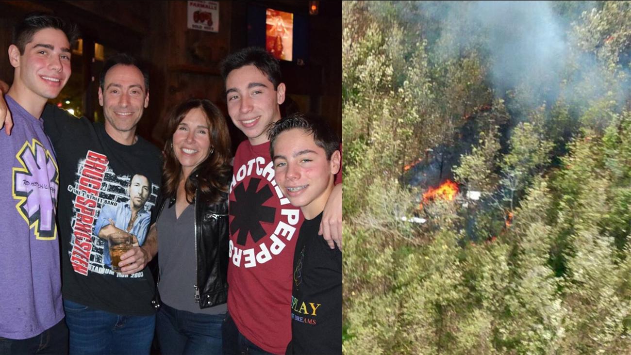 costa rica plane crash scarsdale family