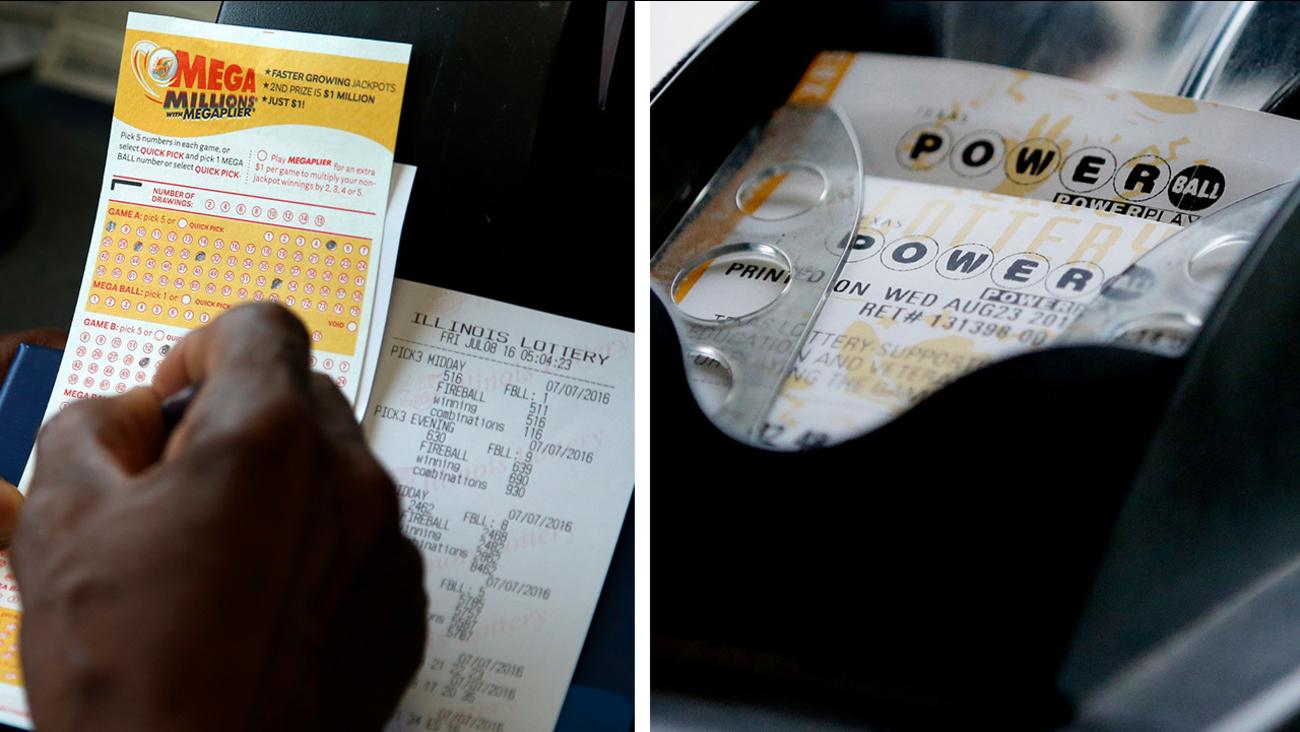 mega millions powerball lottery