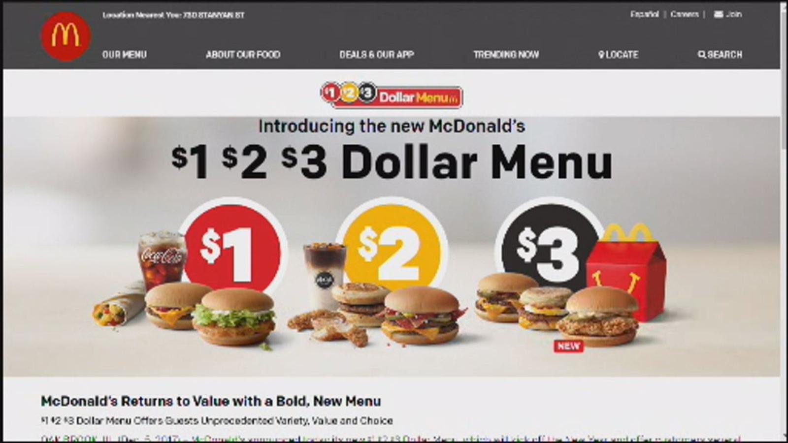 Mcdonalds New Dollar Menu 2020.Mcdonald S New Dollar Menu To Make Debut