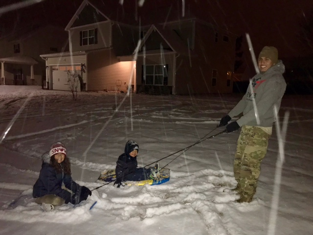"<div class=""meta image-caption""><div class=""origin-logo origin-image none""><span>none</span></div><span class=""caption-text"">Sleighing though the snow. Cumberland County in Fayetteville . (Lissett Lopez - ABC11 Eyewitness)</span></div>"