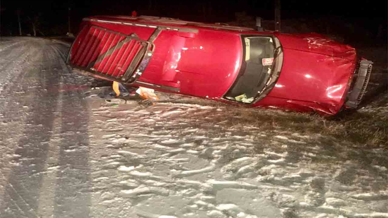 Crashes cause Durham County sheriff to remind drivers about wintry roads