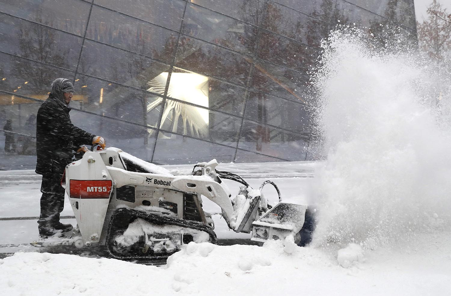 "<div class=""meta image-caption""><div class=""origin-logo origin-image ap""><span>AP</span></div><span class=""caption-text"">A worker clears snow in front of the National September 11 Memorial and Museum in New York, Thursday morning, Jan. 4, 2018. (AP Photo/Kathy Willens)</span></div>"