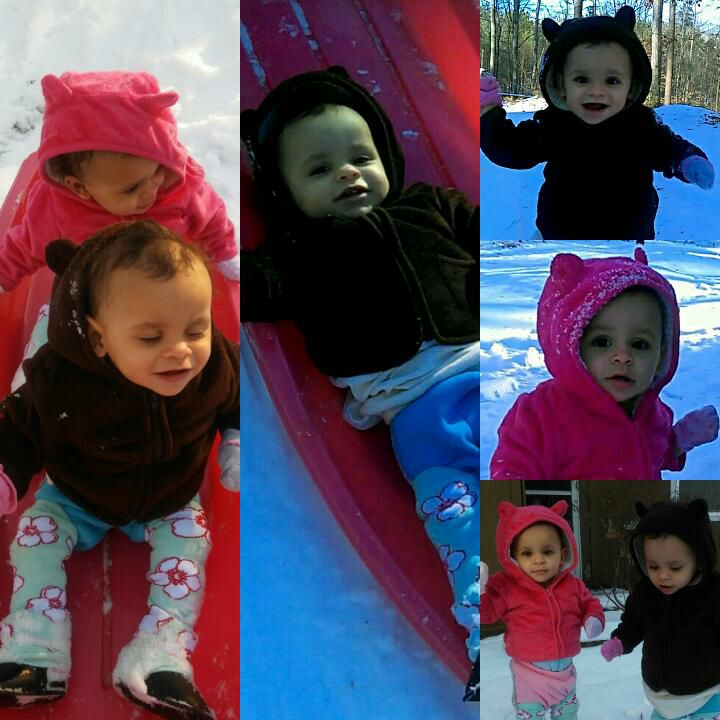 "<div class=""meta image-caption""><div class=""origin-logo origin-image none""><span>none</span></div><span class=""caption-text"">1-year-old twins, Kyliah and Kalani Beauchamp enjoying their first 2018 snow in Sanford. (Cara Turney‎)</span></div>"