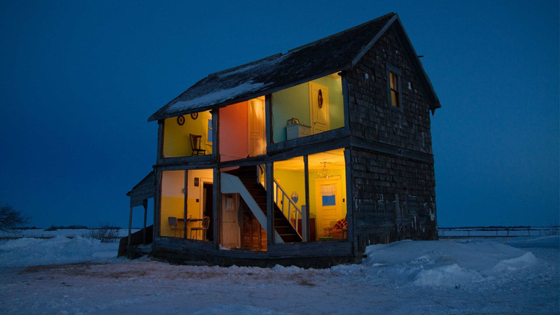 Photos Artist Transforms Abandoned Building Into A Life Sized