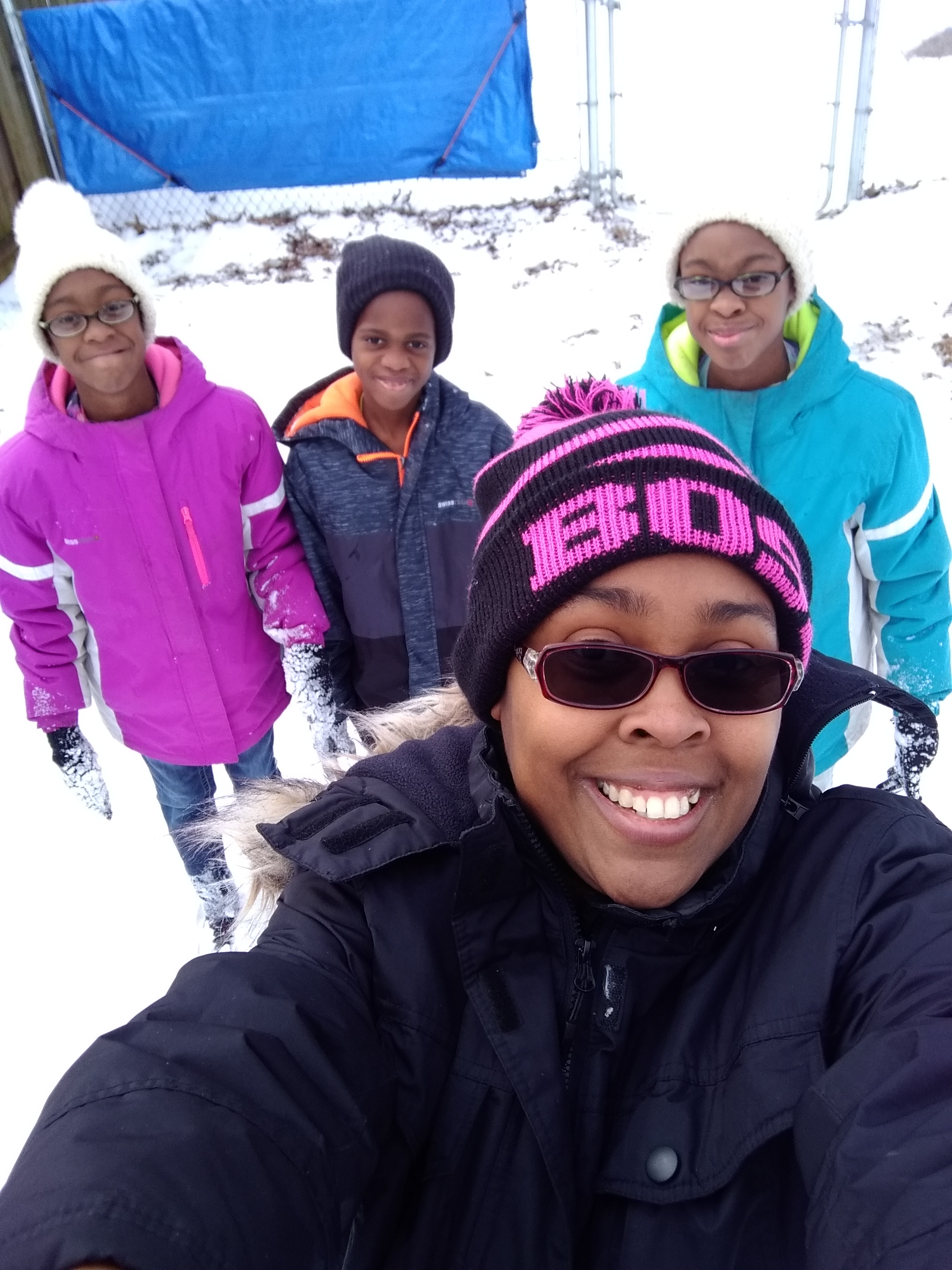 "<div class=""meta image-caption""><div class=""origin-logo origin-image none""><span>none</span></div><span class=""caption-text"">The Hood family from Roanoke Rapids! (Candice Hood - ABC11 Eyewitness)</span></div>"