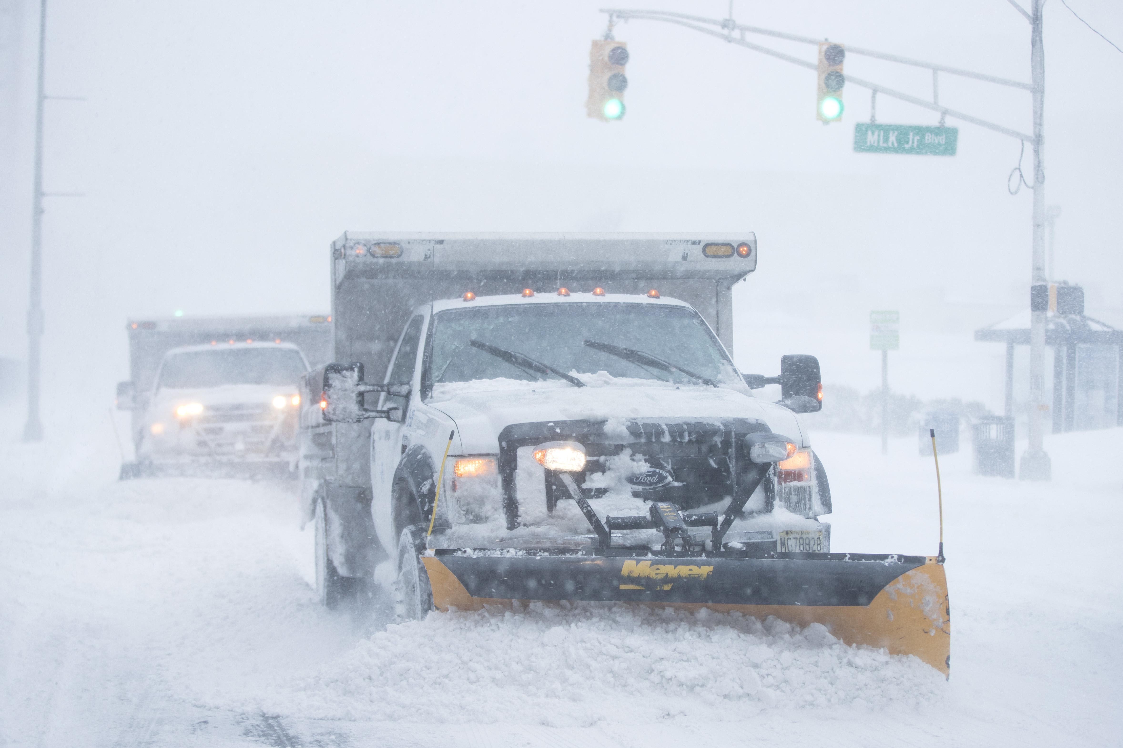"<div class=""meta image-caption""><div class=""origin-logo origin-image none""><span>none</span></div><span class=""caption-text"">Plows clear streets during a winter snowstorm in Atlantic City, N.J., Thursday, Jan. 4, 2018. (AP Photo/Matt Rourke) (AP)</span></div>"