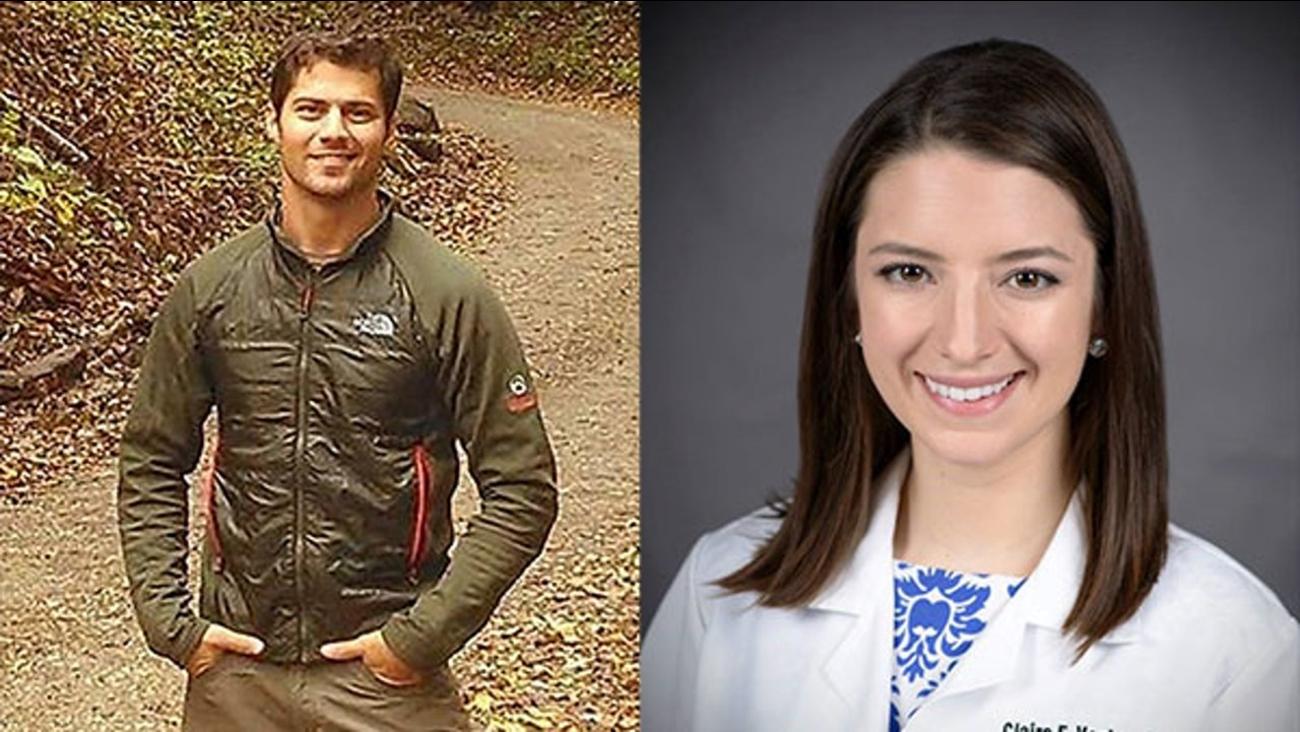 Ryan Zike (left) and Claire Vanlandingham.