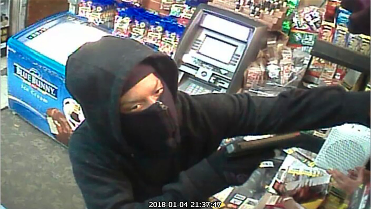 One of the suspects in the H&W Convenience Store robbery.