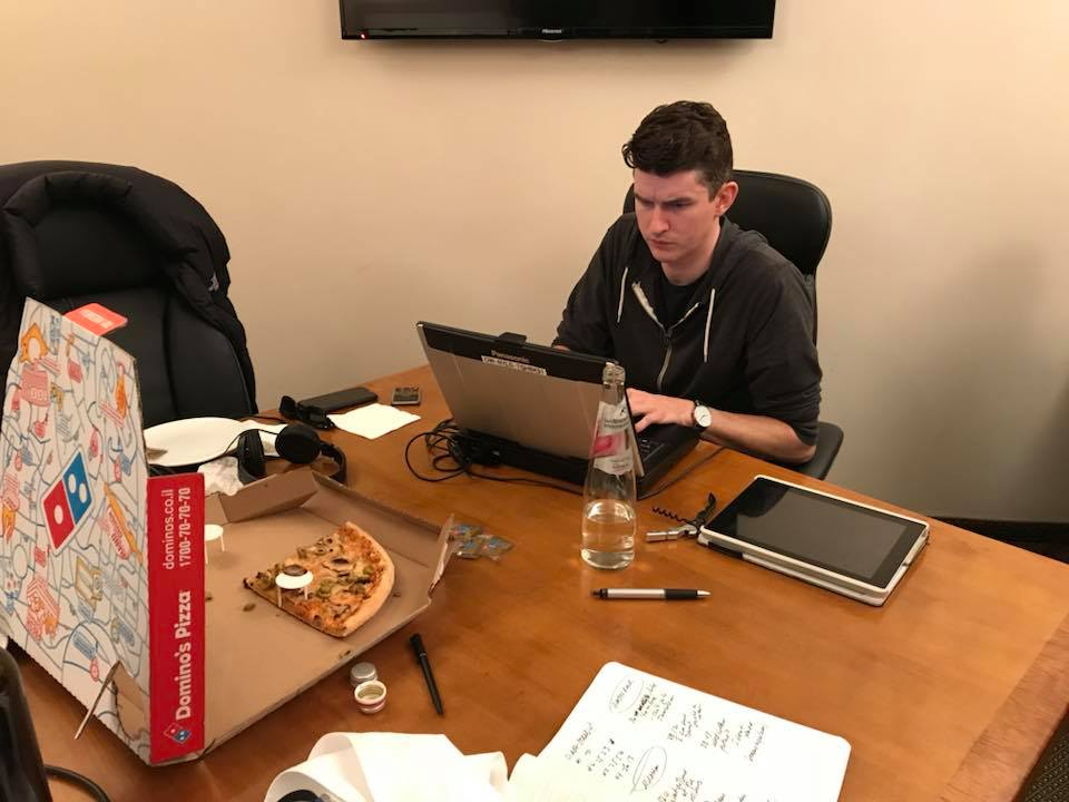<div class='meta'><div class='origin-logo' data-origin='none'></div><span class='caption-text' data-credit=''>You don't have too many good food options when you're editing the stories at midnight!</span></div>