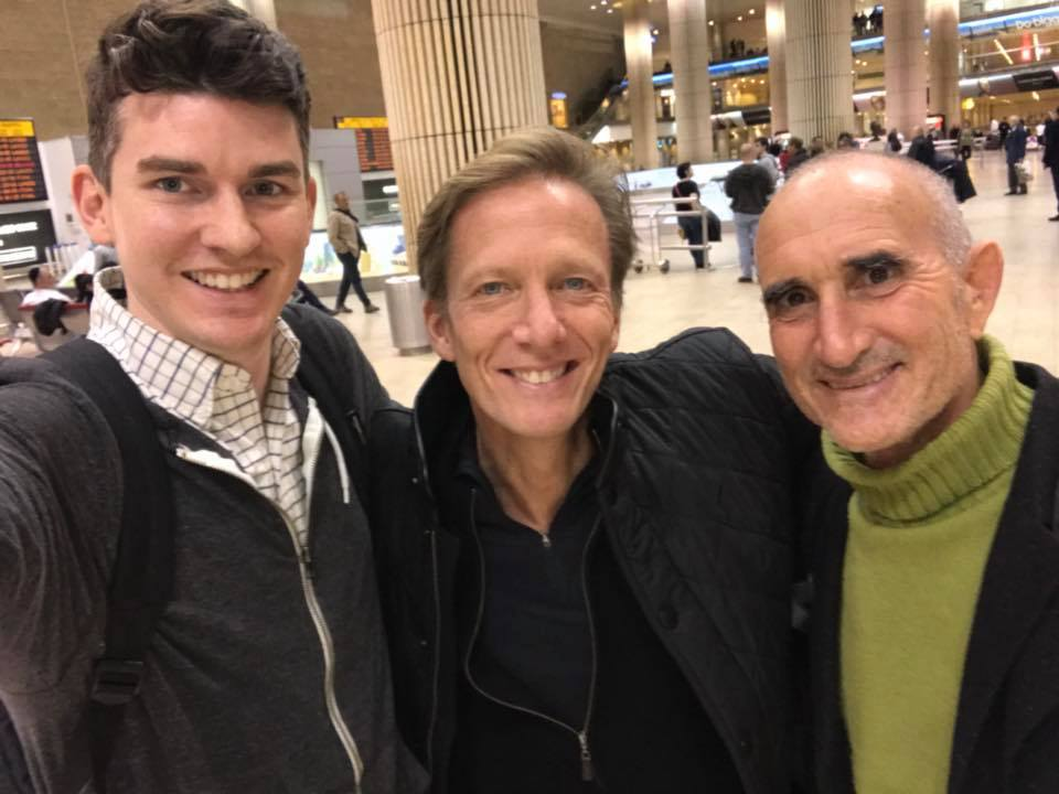 <div class='meta'><div class='origin-logo' data-origin='none'></div><span class='caption-text' data-credit=''>Saying goodbye to Ziv at Ben Gurion before our late night flight home.</span></div>