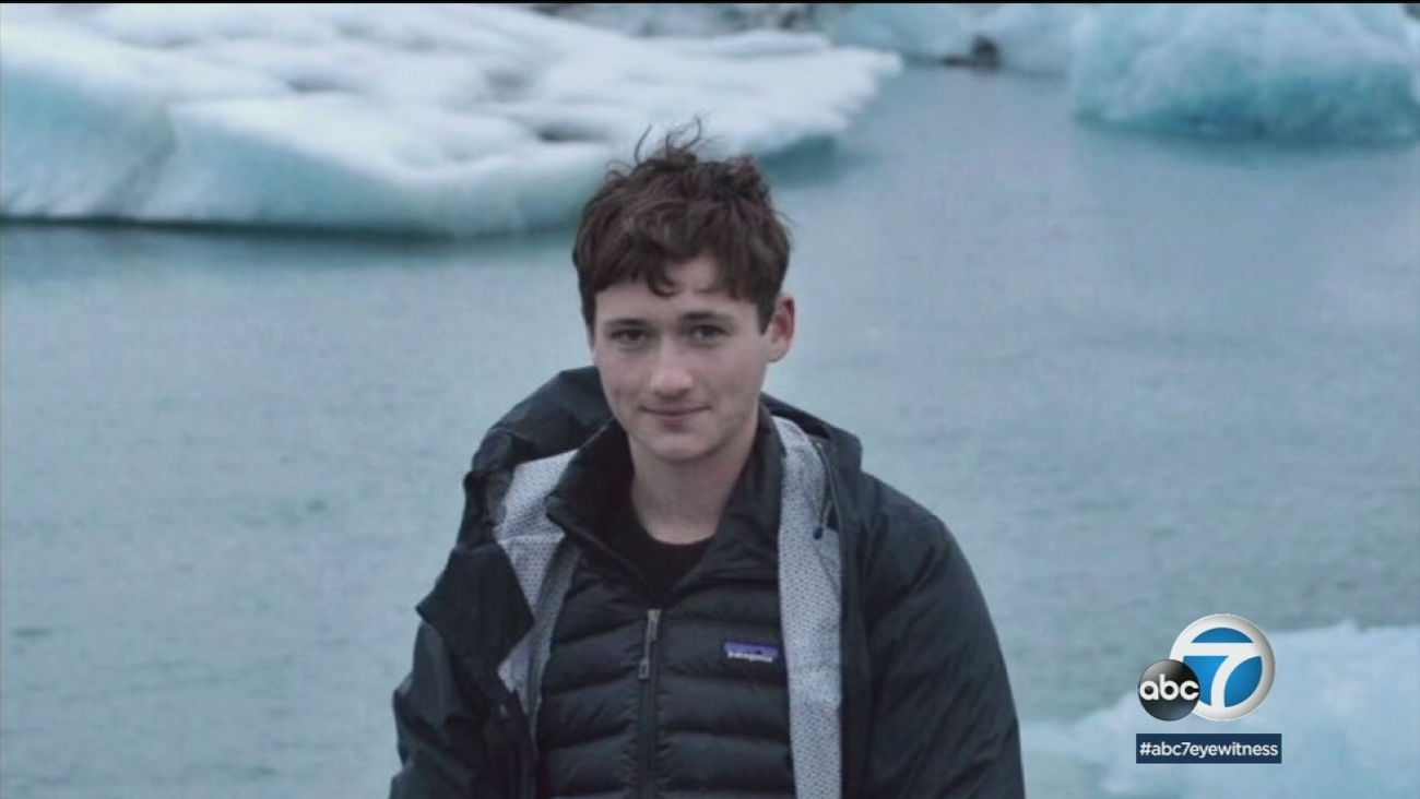 Blaze Bernstein, 19, is shown in a photo provided by his family.