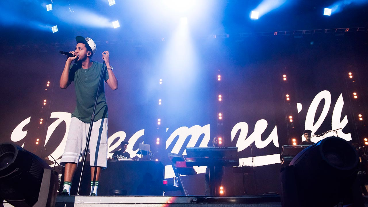 """<div class=""""meta image-caption""""><div class=""""origin-logo origin-image """"><span></span></div><span class=""""caption-text"""">J. Cole performs on day one of the Budweiser Made in America Festival on Saturday, Aug. 30, 2014, in Philadelphia. (Charles Sykes/Invision/AP)</span></div>"""