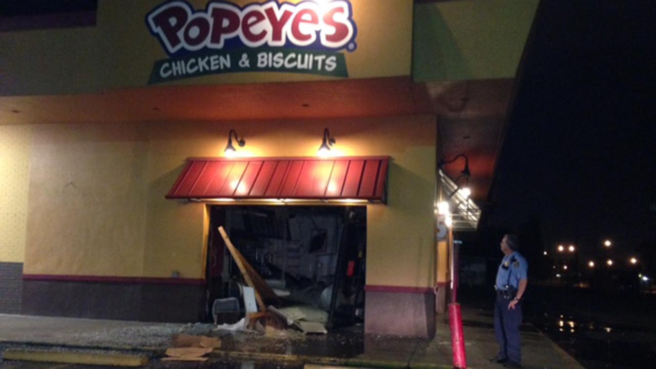 damage at popeye's