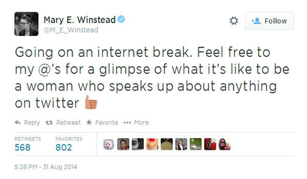 "<div class=""meta image-caption""><div class=""origin-logo origin-image ""><span></span></div><span class=""caption-text"">Actress Mary Elizabeth Winstead was the most vocal of those speaking out against the photos being made public, real or not. (Twitter, Mary Elizabeth Winstead)</span></div>"