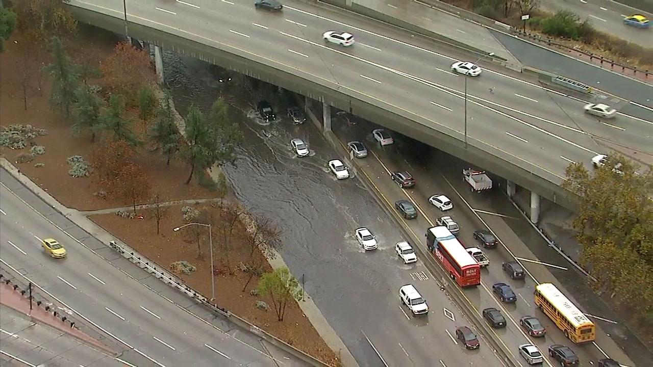 Rain wreaks havoc on SoCal roads, triggers mudslides