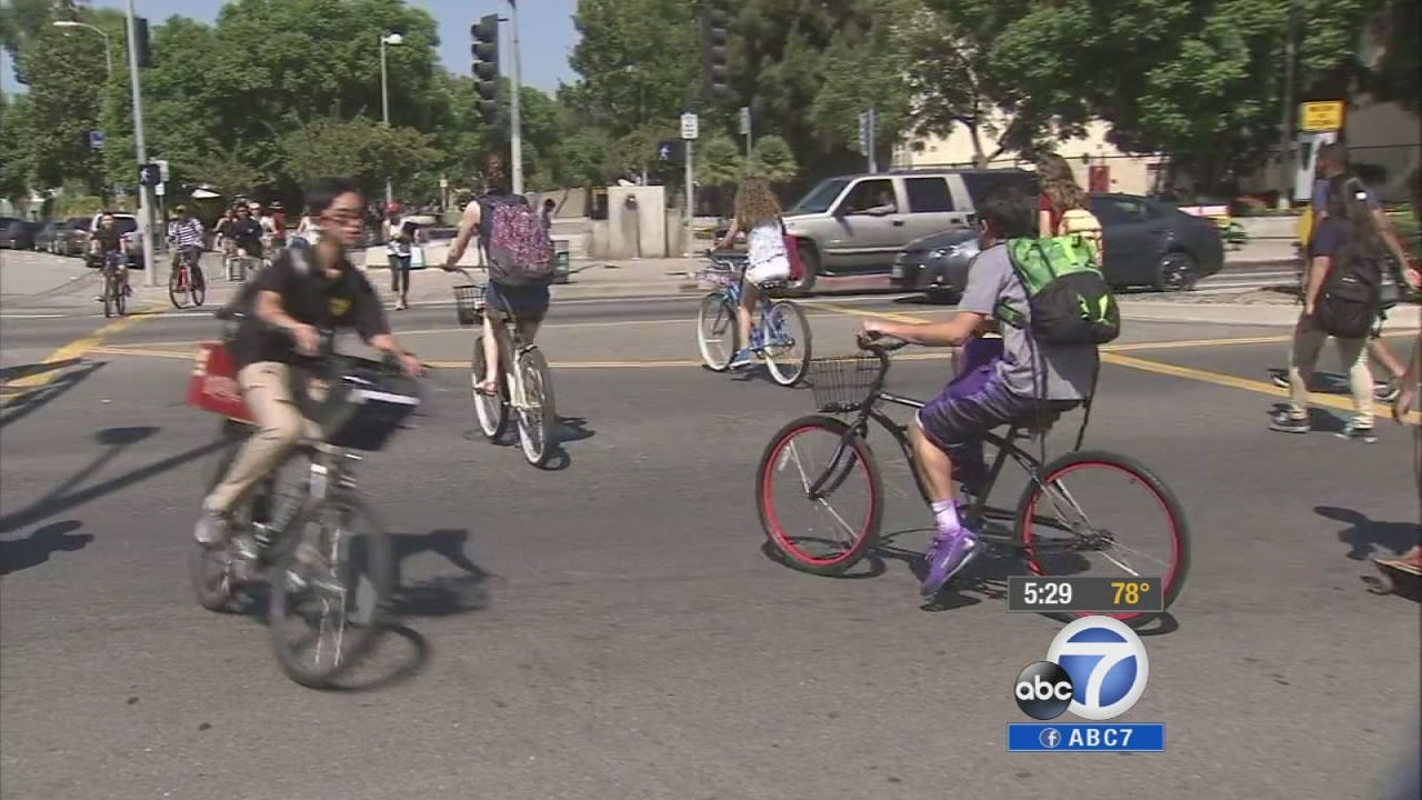 A new statewide bicyclist safety law mandates that drivers give cyclists three feet of space when passing or face new fines.