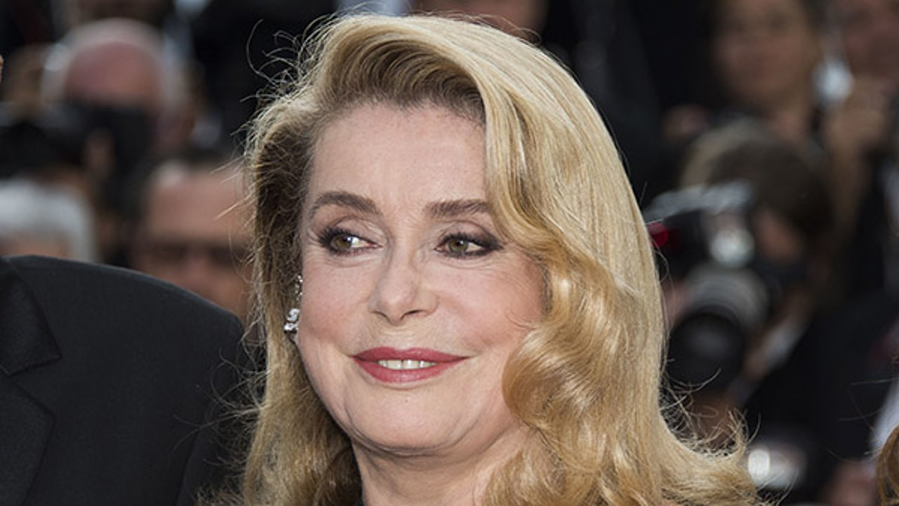 Catherine Deneuve poses for photographers at the 70th international film festival, Cannes, southern France, Monday, May 22, 2017.