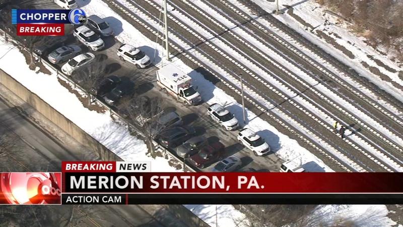 Pedestrian fatally struck by train near Wynnewood Station