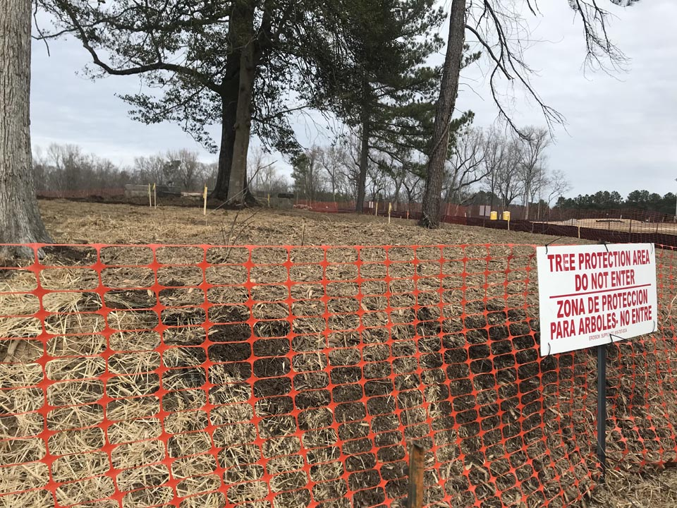 <div class='meta'><div class='origin-logo' data-origin='WTVD'></div><span class='caption-text' data-credit=''>Some Wake Forest residents upset after a video posted to Facebook claims a local home developer &#34;bulldozed&#34; a historic cemetery. The developer disputes that claim.</span></div>