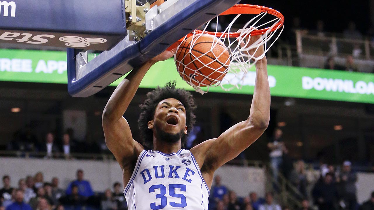 Marvin Bagley III had his 13th double-double of the season.