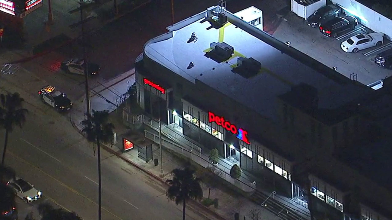 Shots fired at Studio City Petco, police say | abc7 com