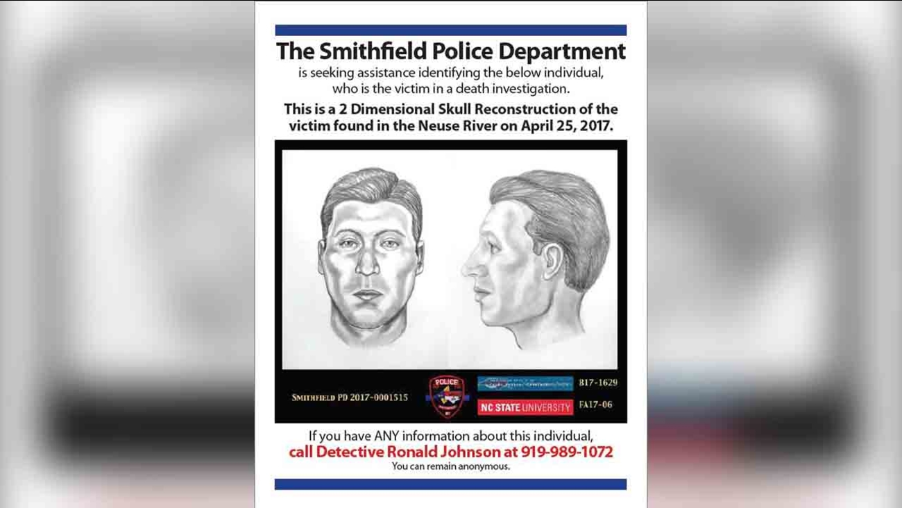 Police need help identifying this man found in the Neuse River in April