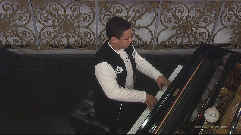 Conservatory Pianist Joshua Mhoon Performs on Windy City