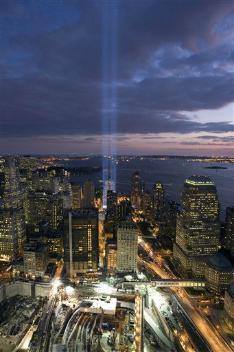 "<div class=""meta image-caption""><div class=""origin-logo origin-image none""><span>none</span></div><span class=""caption-text"">A short test of the ""Tribute in Light"" illuminates the sky over the World Trade Center site Wednesday, Sept. 10, 2008 in New York. (AP Photo/ Mark Lennihan)</span></div>"