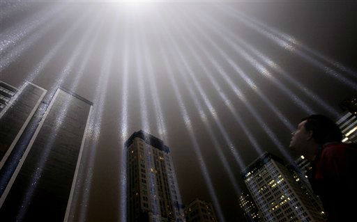 "<div class=""meta image-caption""><div class=""origin-logo origin-image none""><span>none</span></div><span class=""caption-text"">A test of the Tribute in Light rises above lower Manhattan, Wednesday, Sept. 7, 2011 in New York. (AP Photo/ Seth Wenig)</span></div>"
