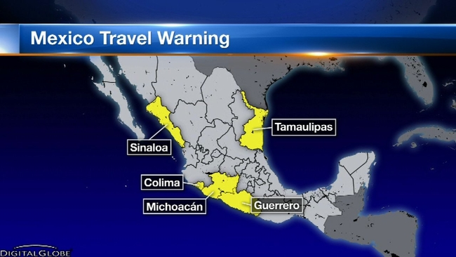 Popular mexican tourist destinations included in state dept travel popular mexican tourist destinations included in state dept travel warning abc7chicago publicscrutiny Image collections