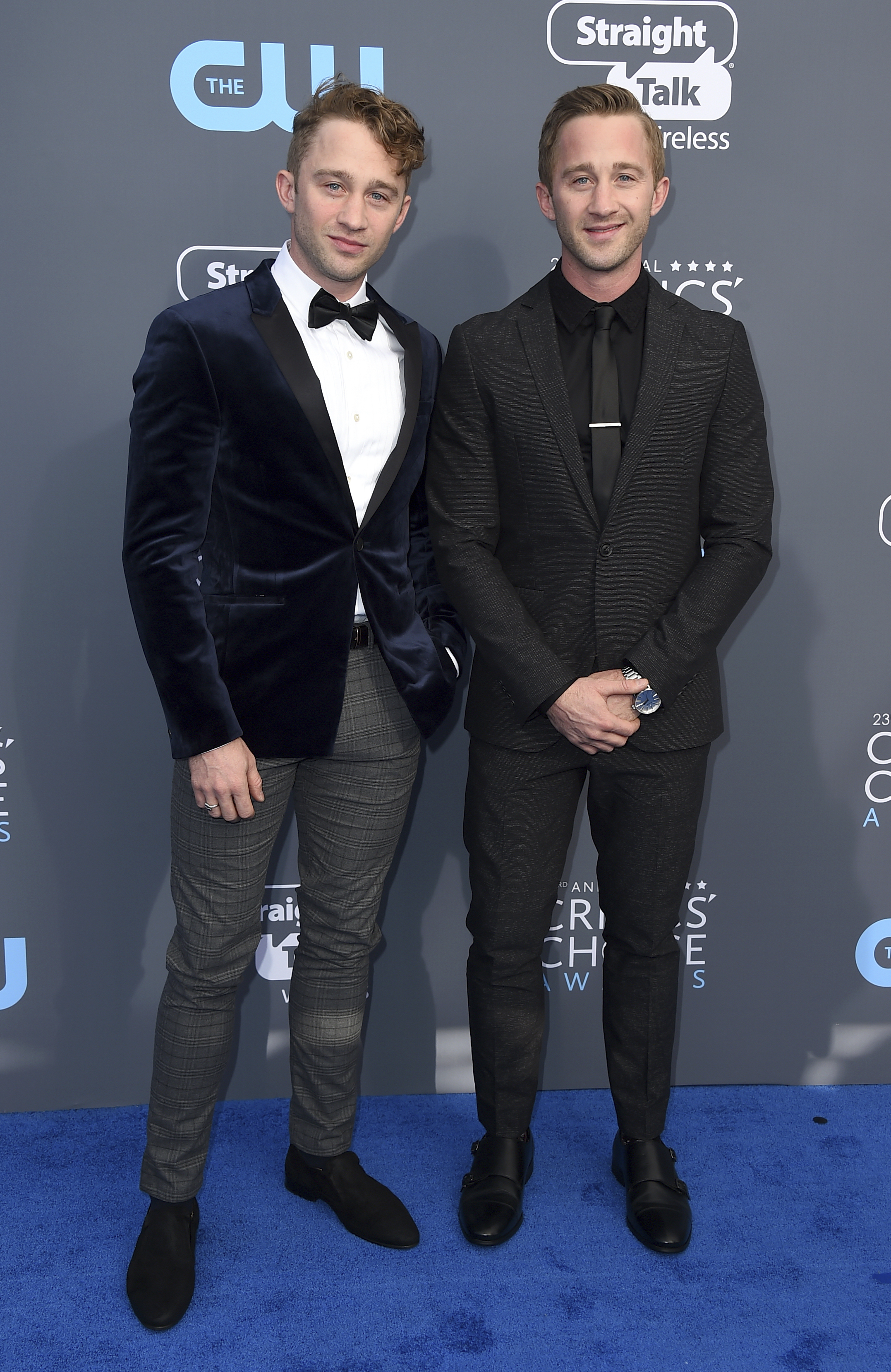 <div class='meta'><div class='origin-logo' data-origin='AP'></div><span class='caption-text' data-credit='Jordan Strauss/Invision/AP'>Russell Dennis Lewis, left, and Matthew Dennis Lewis arrive at the 23rd annual Critics' Choice Awards at the Barker Hangar on Thursday, Jan. 11, 2018, in Santa Monica, Calif.</span></div>