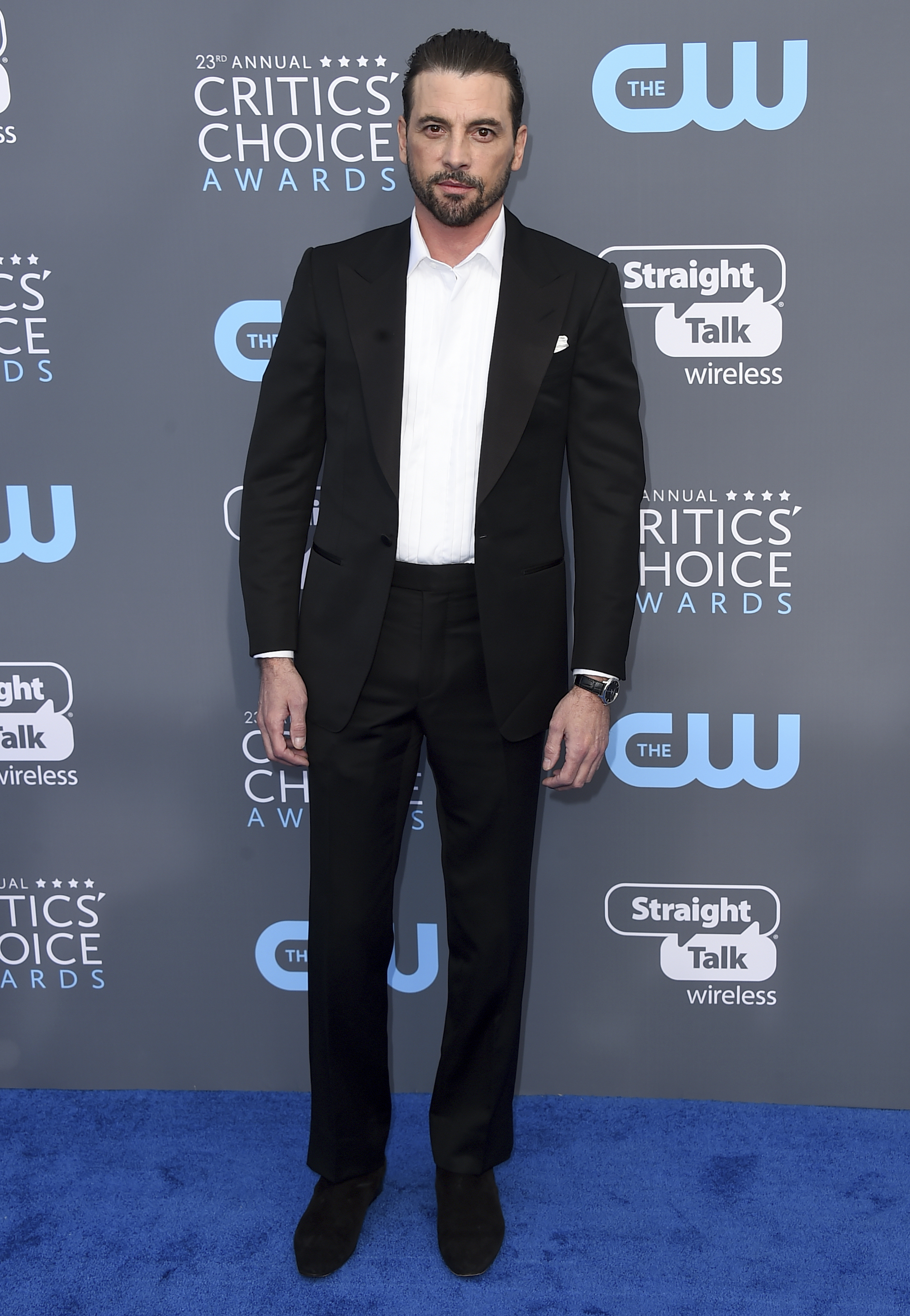 <div class='meta'><div class='origin-logo' data-origin='AP'></div><span class='caption-text' data-credit='Jordan Strauss/Invision/AP'>Skeet Ulrich arrives at the 23rd annual Critics' Choice Awards at the Barker Hangar on Thursday, Jan. 11, 2018, in Santa Monica, Calif.</span></div>