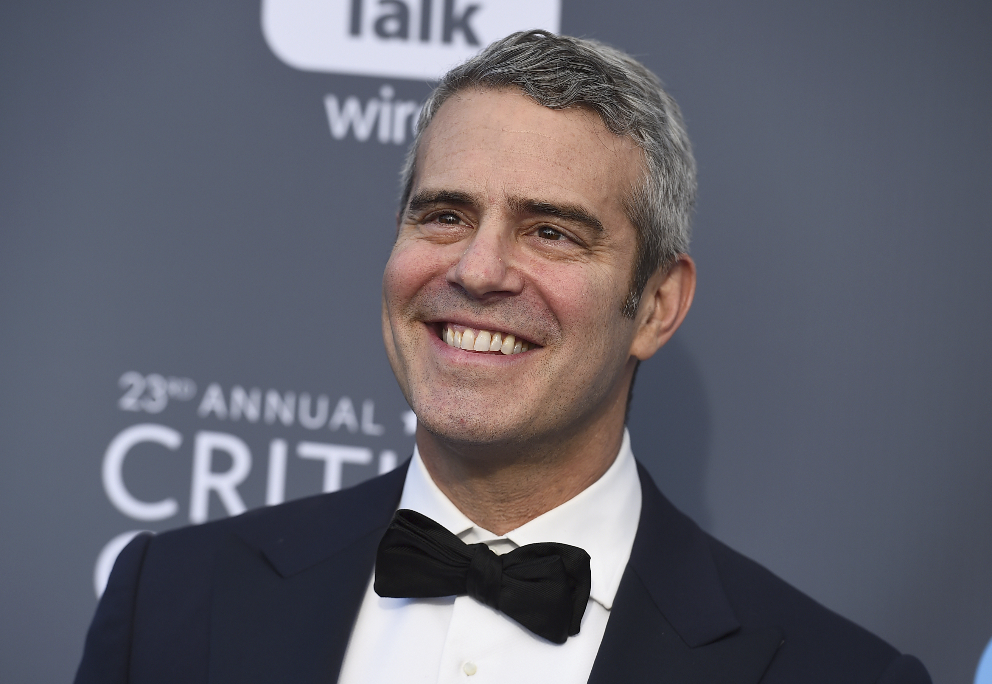 <div class='meta'><div class='origin-logo' data-origin='AP'></div><span class='caption-text' data-credit='Jordan Strauss/Invision/AP'>Andy Cohen arrives at the 23rd annual Critics' Choice Awards at the Barker Hangar on Thursday, Jan. 11, 2018, in Santa Monica, Calif.</span></div>