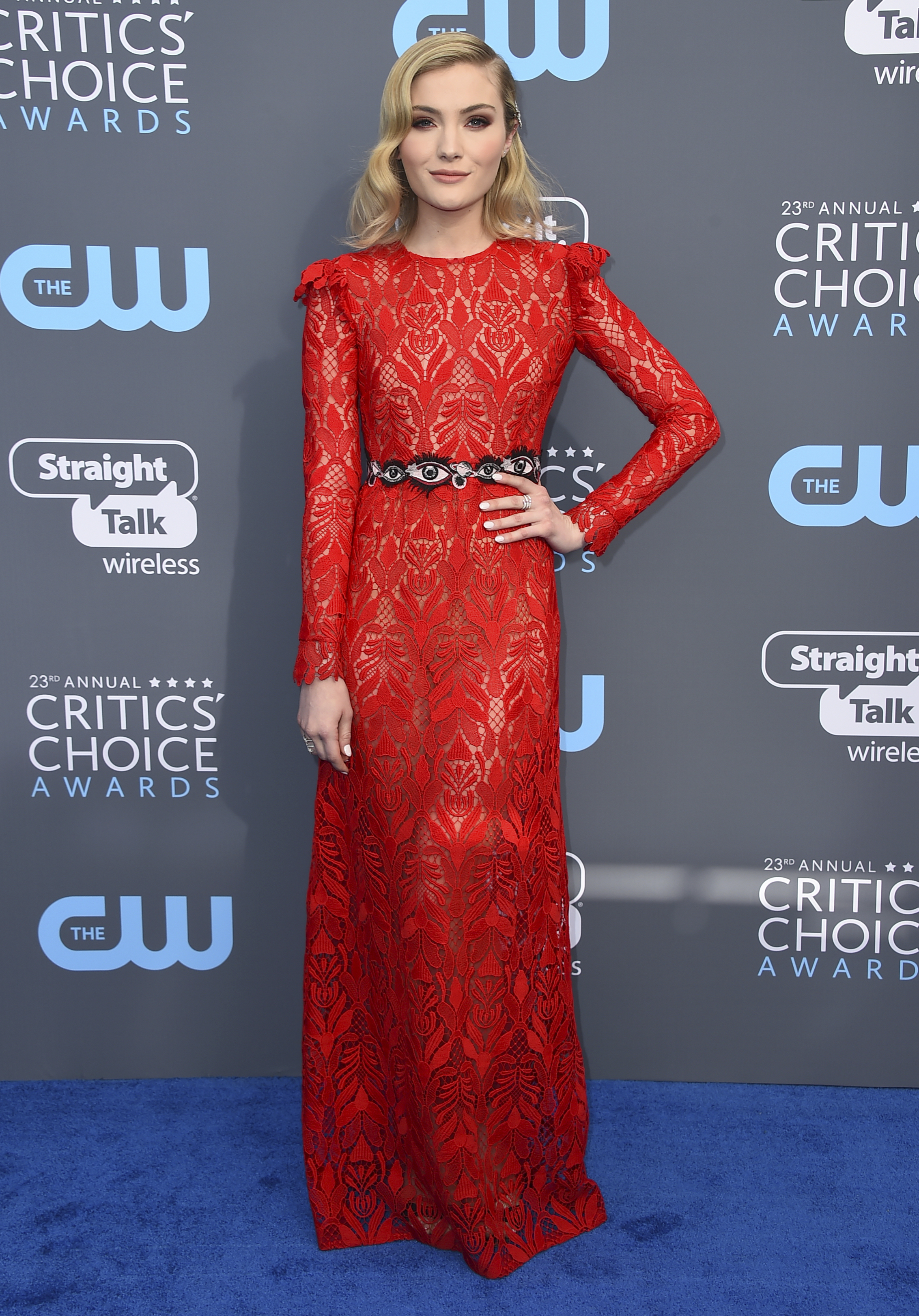 <div class='meta'><div class='origin-logo' data-origin='AP'></div><span class='caption-text' data-credit='Jordan Strauss/Invision/AP'>Skyler Samuels arrives at the 23rd annual Critics' Choice Awards at the Barker Hangar on Thursday, Jan. 11, 2018, in Santa Monica, Calif.</span></div>